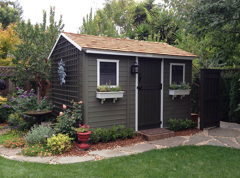 The Many Uses Of A Garden Shed