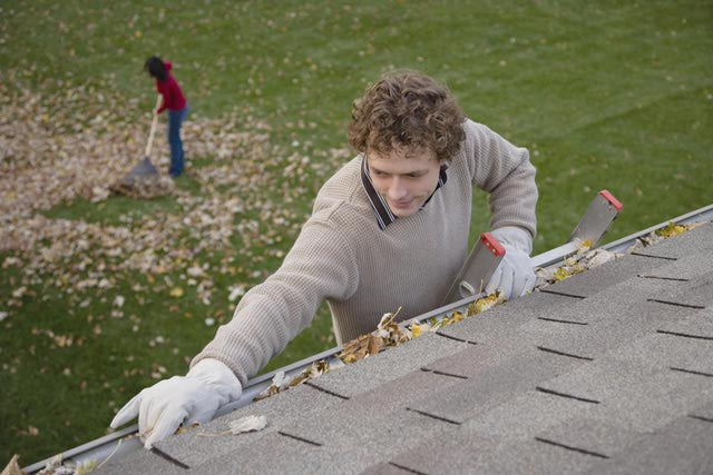 Checking the Roof and Gutter After Winter
