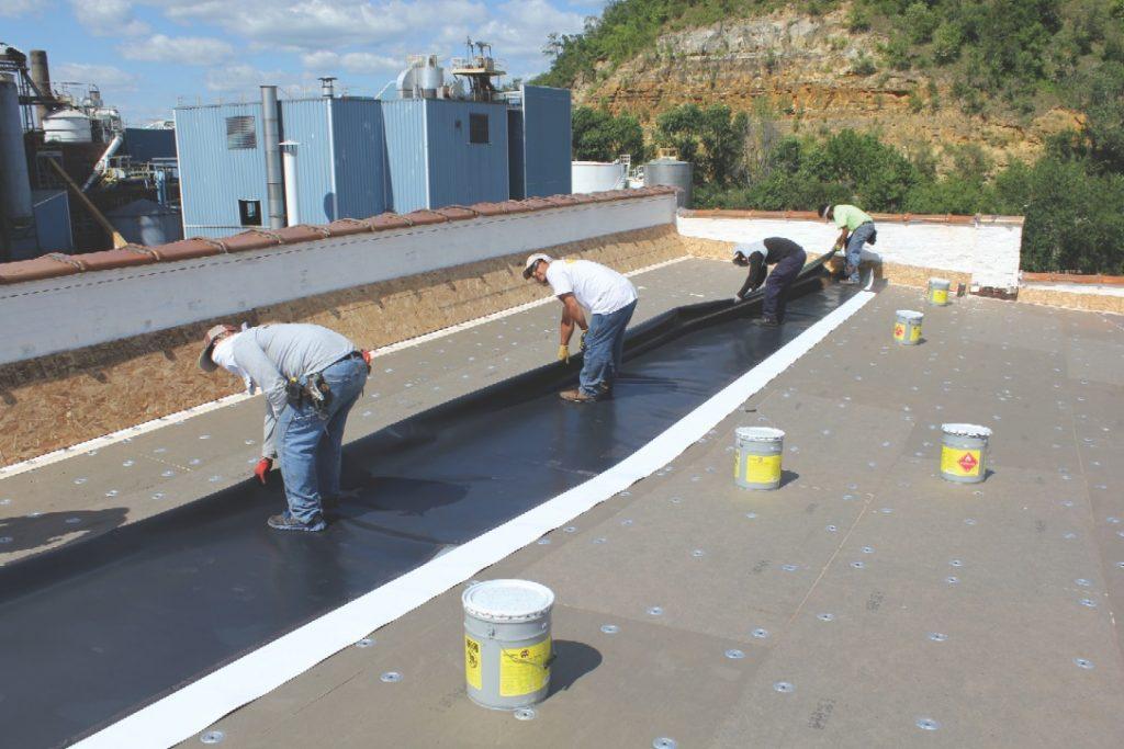 Choosing Flexible-Membrane Roofing Materials