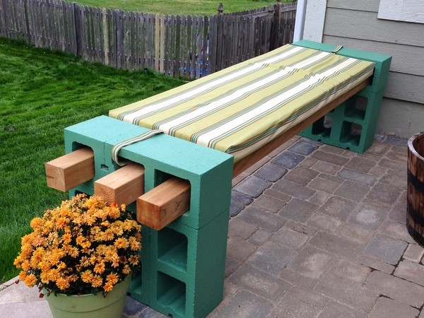 Supplies To Build An Outdoor Bench