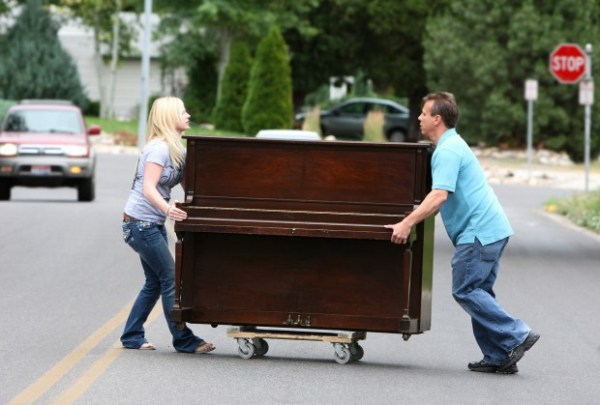 Moving A Piano The Easy Way