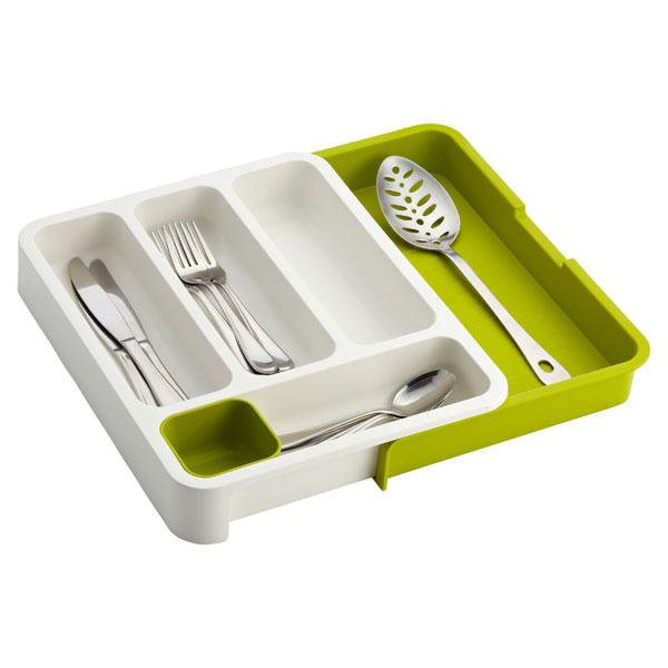 Exp Cutlery Tray Green